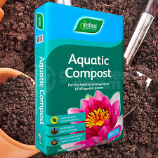 Westland 20L Aquatic Compost For Use In And Around Garden Ponds Water Features