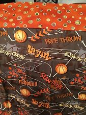 Homemade Pillowcase!  great for your college freshman!  Basketball theme!