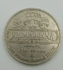 Casino $1 Gaming Token Primadonna Resort Jean NV First Edition