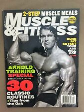 MUSCLE & FITNESS bodybuilding magazine / ARNOLD SCHWARZENEGGER / 01-05