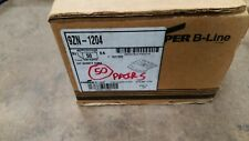 Cooper B-Line 9Zn-1204 Cable Tray Clamp/Guide. Box of 50 pairs w/o hardware.