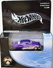 HOT WHEELS 100% CUSTOM '51 MERC BLACK BOX PURPLE