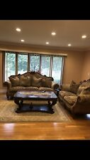 Furniture Set: Carpet,Coffee Table,Chandelier,2 Side Tables. 1,600 Negotiable
