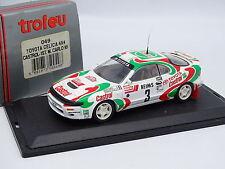 Trofeu 1/43 - Toyota Celica 4X4 Castrol Winner Rally Installa Carlo 1993