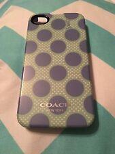 Coach Mint Chambray Polka Dot Case iPhone 5/5S