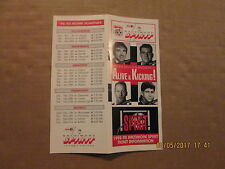 NPSL Baltimore Spirit Vintage Defunct 1992-93 Soccer Season Ticket Brochure