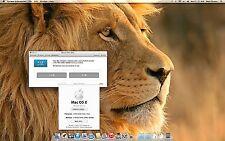 Apple Mac Mini Desktop;  Lion OS 10.7.5  2.0GHz cpu  ~320 GB **4GB's ram**