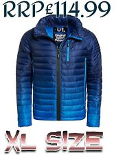 NEW RRP£114.99 XL SIZE MENS SUPERDRY POWER FADE WINTER JACKET INK BLUE BNWT