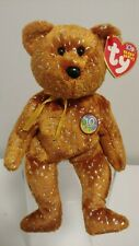 Ty Beanie Babies - DECADE the Internet Exclusive Brown Bear Beanie Baby - MWMTs