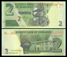 Zimbabwe 2 Dollars 2019 P-NEW UNC