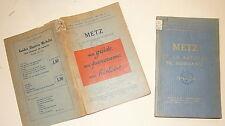METZ ET LA BATAILLE DE MORHANGE. Guides illustrés Michelin des champs de bataill