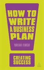 How to Write a Business Plan (Creating Success)-ExLibrary