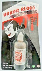 1 Tube Fake Horror Blood Halloween Accessory Vampire Zombie Liquid US Seller