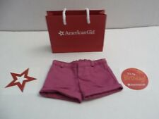Retired My American Girl Shorts Pants 2013 Coconut Fun Outfit