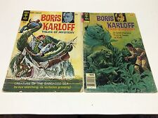BORIS KARLOFF Tales of Mystery #29,76 (GOLD KEY/1969/1215164) SET LOT OF 2