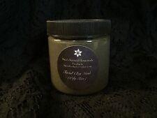 Homemade Natural Facial Clay Mask (Oily Skin) 4oz Jar