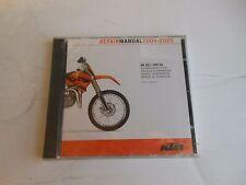 KTM Repair manual CD 2004-2005 85 SX / 105 SX   # 3.206.020