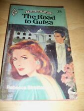 HARLEQUIN THE ROAD TO GAFSA BY REBECCA STRATTON (PAPERBACK 1977)