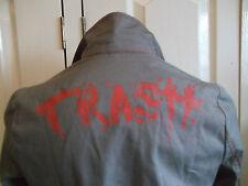 Trash Kulture womans khaki/grey Punk grunge fitted jacket UK 10 BNWT