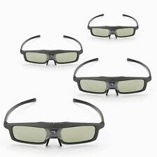 4x SainSonic 144Hz 3D DLP-Link for BenQ IR Active Shutter Rechargeable Glasses
