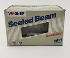 New Wagner Sealed Beam Headlight Bulb High Beam 4651 NOS value