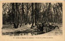 CPA PARIS (16e) Le Bois de Boulogne. en automne. Chute de la Mare (536113)