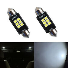 2 X 42mm Cool White Canbus Error Free Led Interior Map Dome Light 578 6411 Bulbs