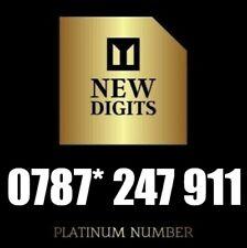 GOLD PREMIUM PLATINUM VIP MOBILE PHONE NUMBER DIAMOND PLATINUM SIM CARD 247 911