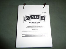 US ARMY * RANGER HANDBOOK !! WATERPROOF / TEAR PROOF !! April 2017 * NEW