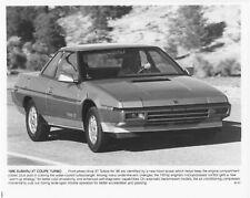 1986 Subaru XT Coupe Turbo Press Photo 0017