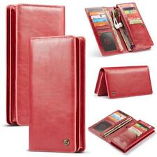 Fashion Powerful Purse Leather Photo Frame Cover 9 Card Wallet Case For Huawei