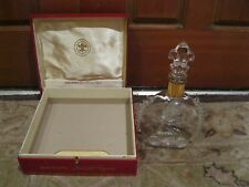 Rare Remy Martin Louis XIII Champagne Cognac Bottle Baccarat Crystal with Box