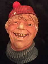 1985 The Deckhand By Legend Products Made In England Chalkware Head F Wright