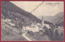 BERGAMO RONCOBELLO 17 VAL BREMBANA Cartolina viaggiata 1915