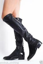 Standard Width (B) Casual Wet look, Shiny Boots for Women