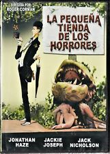 LA PEQUEÑA TIENDA DE LOS HORRORES de Corman. España tarifa plana envíos DVD, 5 €