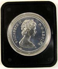 Canada 1974 (Winnipeg)   specimen silver $1 dollar coin (die chip)