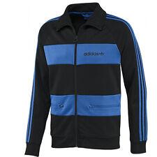 adidas Originals Beckenbauer Track Top Europa Trainingsjacke Jacke Schwarz Blau