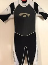 New listing BILLABONG Wetsuit Shorty Springsuit 200 Series Size L 175-190 Lbs