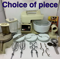Vtg Oster Regency Kitchen Center 972-06A Replacement Parts CHOICE Beige/Almond