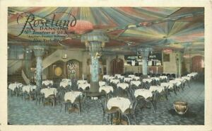 Ballroom New York City Interior 1920s Roseland Dancing Postcard 21-3871