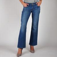 Levi's 529 Curvy Bootcut Beach Tide Damen Mittel Blau Jeans DE 36 / US W29 L34