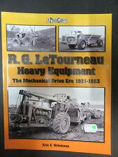 Buch  USA   LeTourneau  Heavy Equipment  1921 - 1953    Iconografix, USA