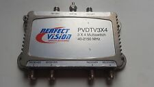 PERFECT VISION PVDTV 3X4 MULTI-SWITCHES 40-2150 MHZ PVDTV3X4