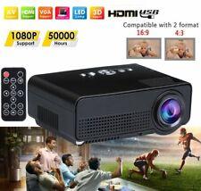 Mini LED Projector 4K Full HD 1080P Home Theater Cinema Video LCD HDMI/USB/VGA