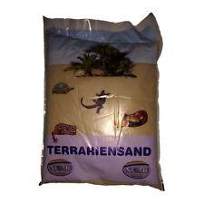 Terrariensand orange trocken 5kg-Terrarium Wüstensand Reptilien Echsen Schlangen