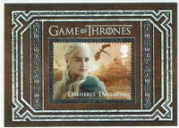 Game of Thrones Inflexions United Kingdom Stamp Card S11 Daenerys Targaryen