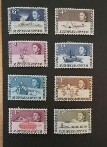 British Antarctic Territory: 1963-69: nice examples : 1/2d - 9d : MH OG