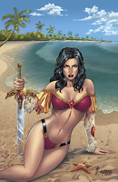 GFT SWIMSUIT SPECIAL 2017 #1 COVER A REYES ZENESCOPE ENTERTAINMENT COMICS