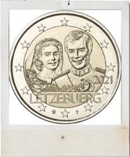 2 EURO *** Luxembourg 2021 *** 40 jaar/ans Henri - RELIEF !!!